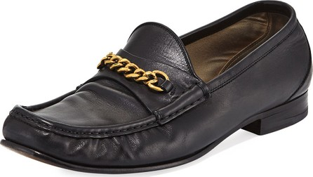 TOM FORD Leather York Chain Loafer