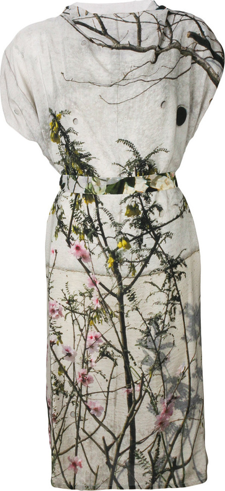 Anntian Floral flared dress