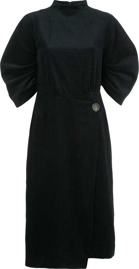 GOEN.J Puff sleeve corduroy dress