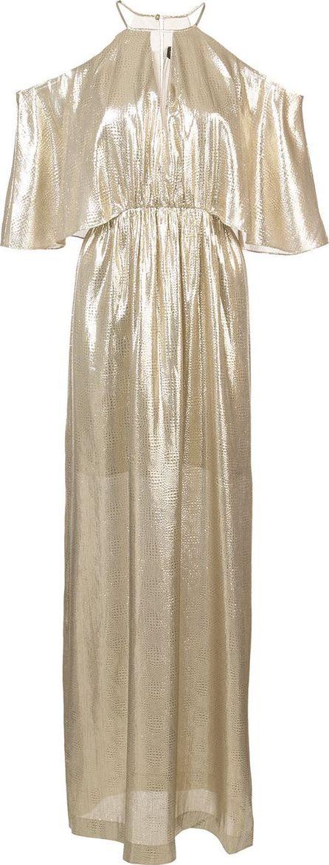 Rachel Zoe metallic gown
