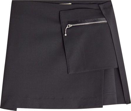 Alyx Virgin Wool Mini Skirt