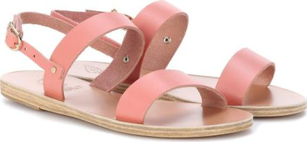 Ancient Greek Sandals Clio metallic leather sandals