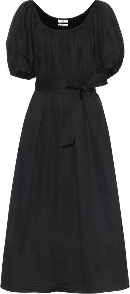 Co Cotton sateen maxi dress