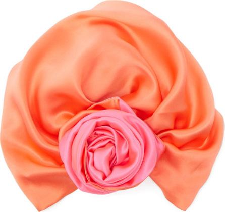 Julia Clancey Reversible silk turban hat