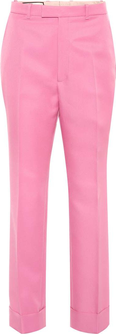 Gucci Gabardine trousers