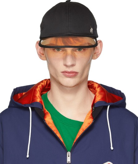 Gucci Black Sun Visor Hat