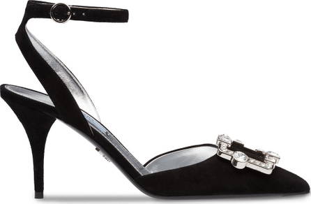 Prada Ankle strap pointed pumps