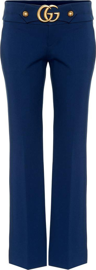 Gucci Double G stretch jersey trousers