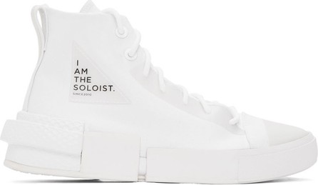 Takahiromiyashita The Soloist White Converse Edition All Star Disrupt CX Sneakers