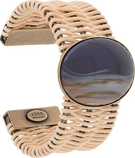Ader.Bijoux Woven cuff bracelet