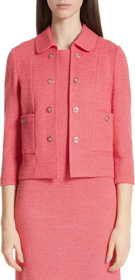 St. John Beti Knit Crop Jacket