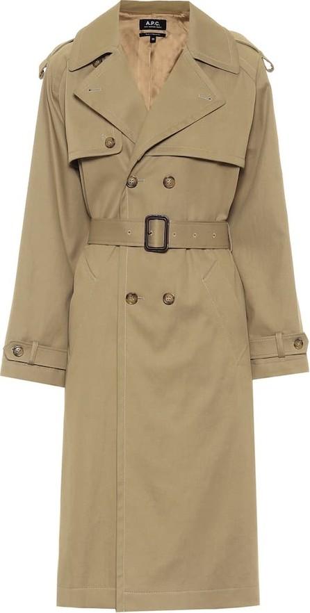 A.P.C. Simone cotton-gabardine trench coat