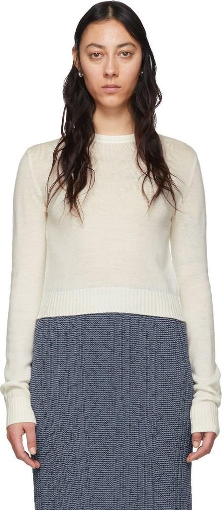 Jil Sander Off-White 'Jil Sander+' Crewneck Sweater