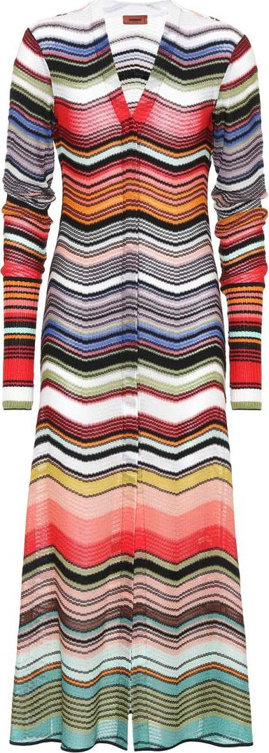 Missoni - Striped cotton-blend cardigan