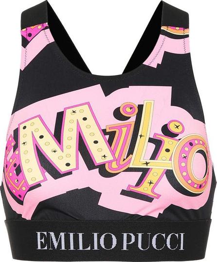 Emilio Pucci Printed sports bra