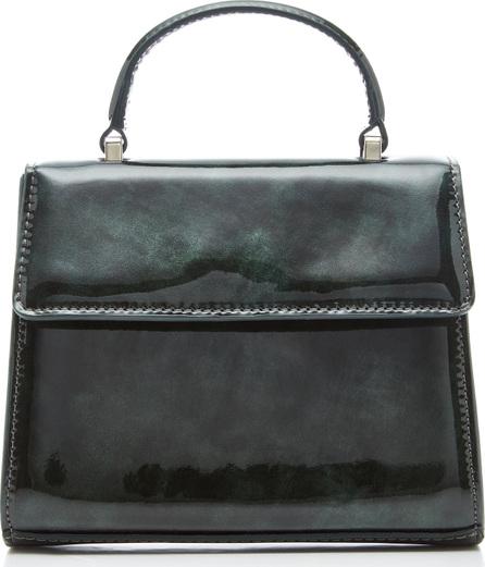 Maryam Nassir Zadeh Marlow Patent-Leather Shoulder Bag