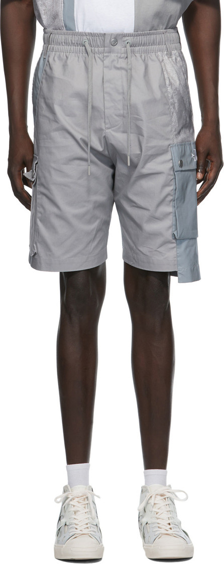 Feng Chen Wang Grey Converse Edition Shorts