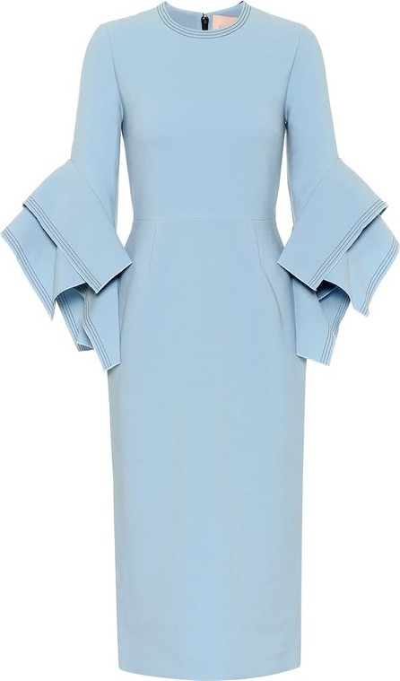 Roksanda Ronda bonded-crêpe dress
