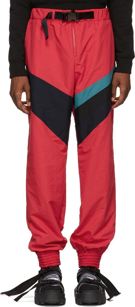 FACETASM Red Stripe Track Trousers