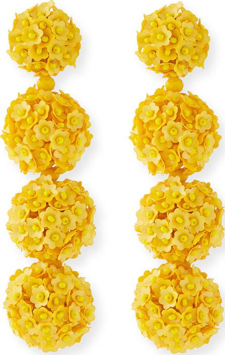 Sachin & Babi Fleur Bouquet Clip-On Earrings