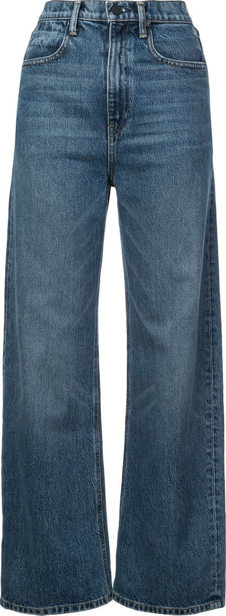 Alexander Wang High waisted straight leg jeans