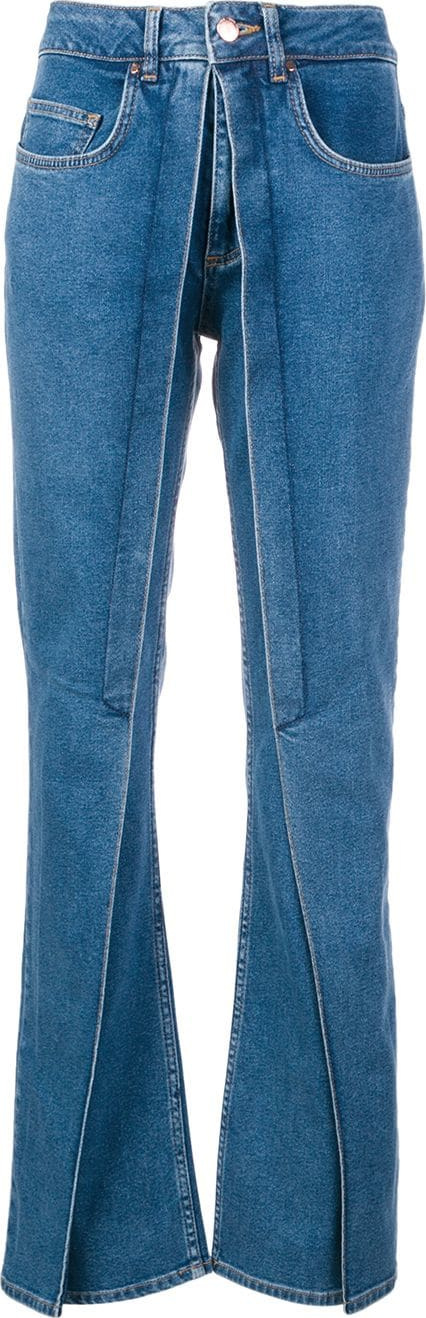 Aalto 'twisted' flared jeans
