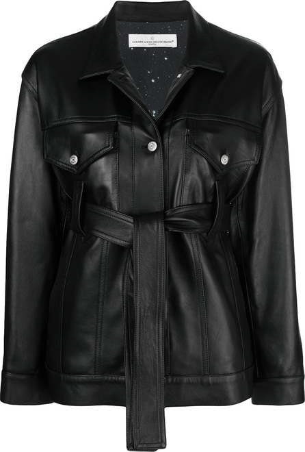 Golden Goose Deluxe Brand Belted jacket