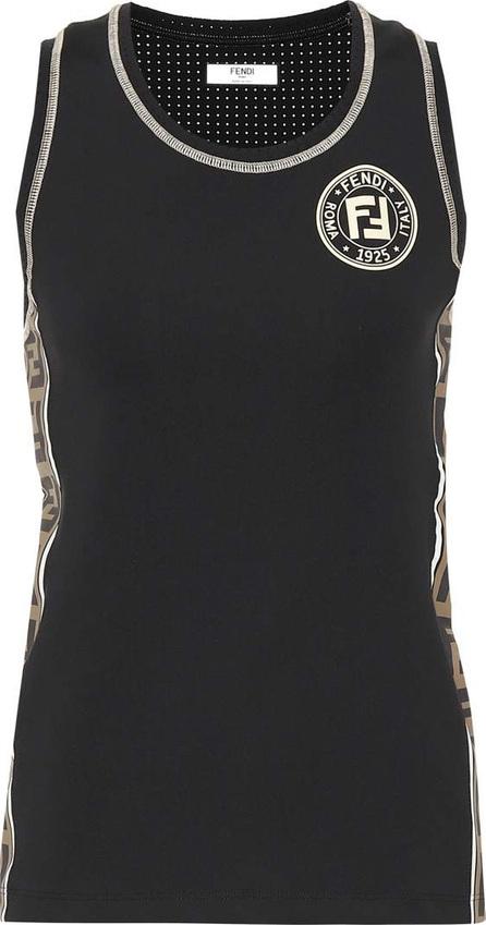 Fendi Printed tank top