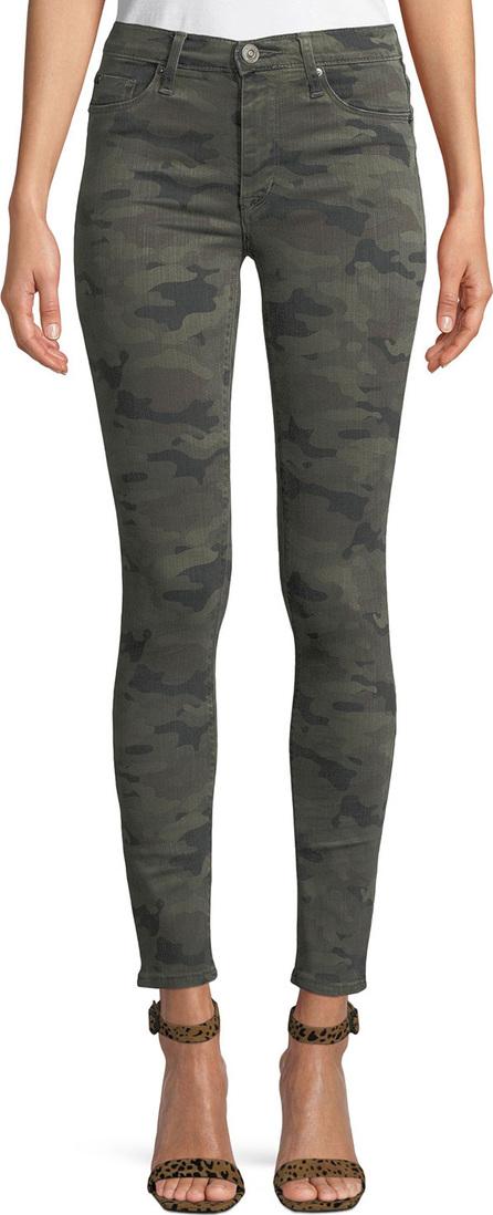 Hudson Barbara High-Rise Camo-Print Skinny Jeans
