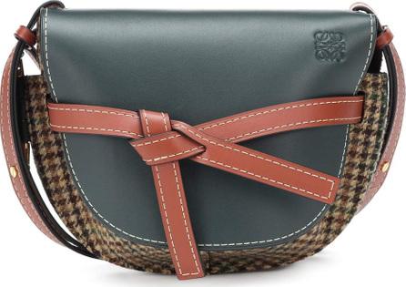 LOEWE Gate small tweed bag