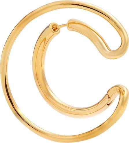 Charlotte Chesnais Ego gold-plated single earring