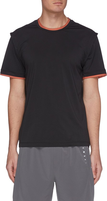 Particle Fever Quickdry contrast panel T-shirt