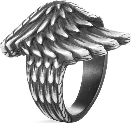 John Hardy 'Legends Eagle' silver wing ring