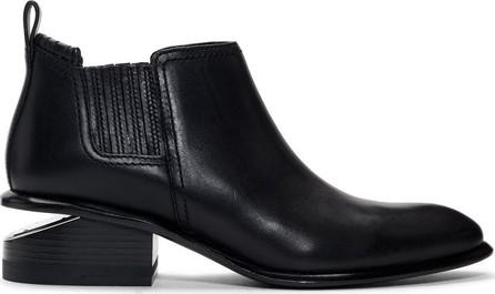 Alexander Wang Black & Silver Kori Boots