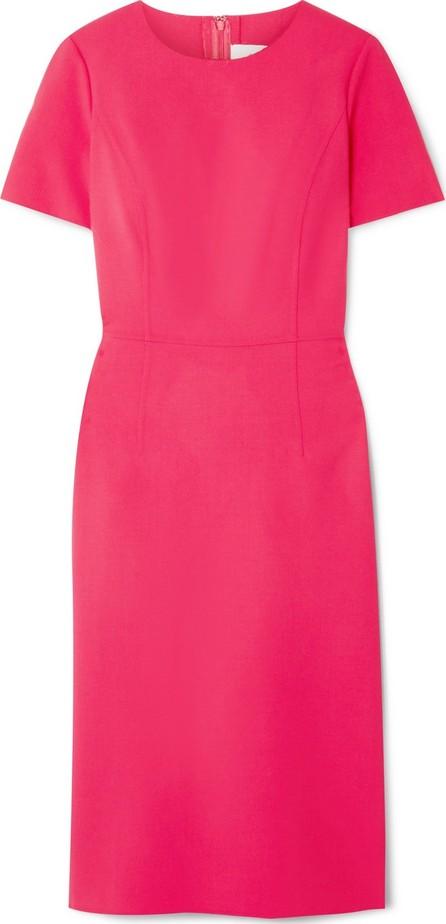 Carolina Herrera Wool-blend cady midi dress