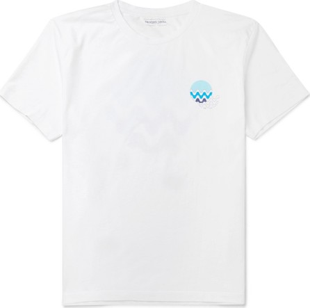 Frescobol Carioca Printed Cotton-Jersey T-Shirt
