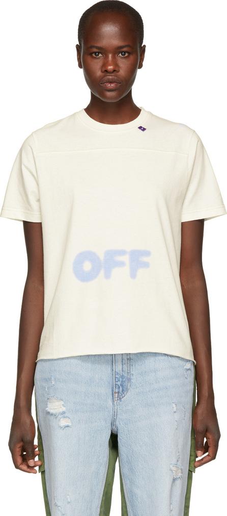 Off White White Blurred Logo T-Shirt