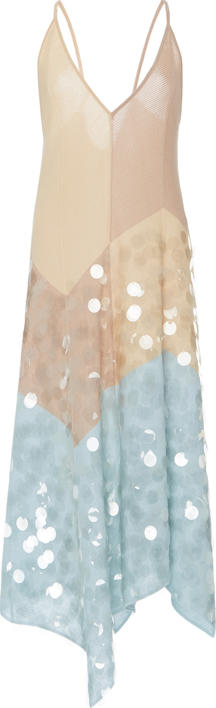 Bottega Veneta Sequin Slip Dress
