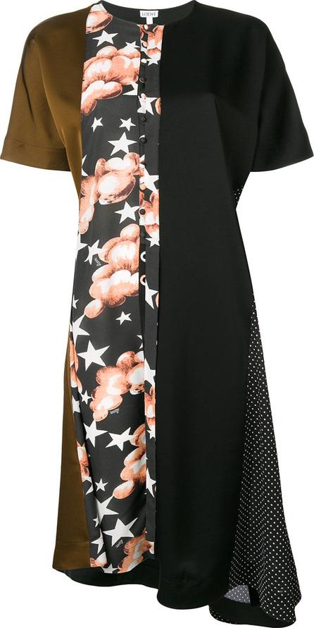 LOEWE Print shift dress