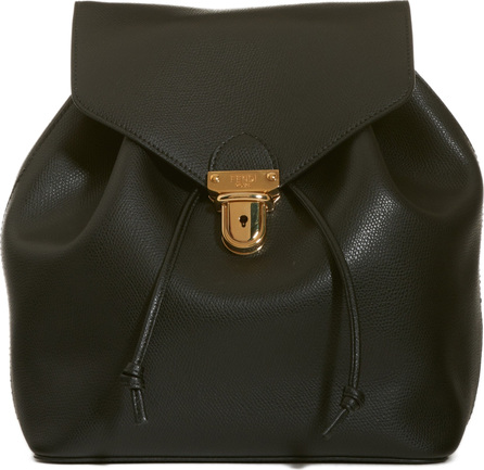 Fendi Cruise Calfskin Leather Backpack