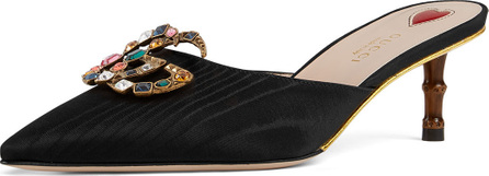 Gucci Unia Mule with Crystal GG
