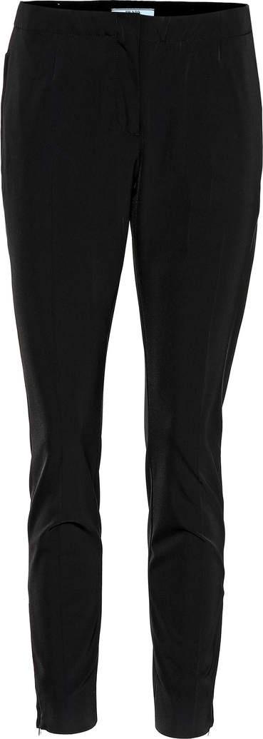 Prada Mid-rise slim pants