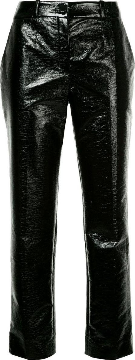 Lanvin varnished trousers