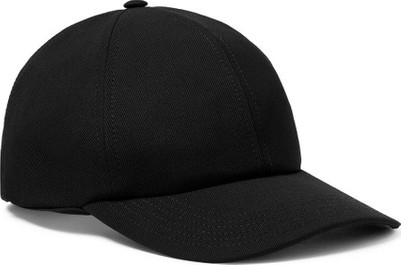 Valentino Valentino Garavani Logo-Embroidered Stretch-Wool Twill Baseball Cap