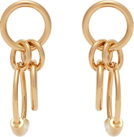 Chloe Reese hoop drop earrings