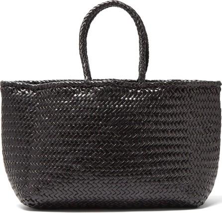 Dragon Diffusion Grace woven-leather basket bag