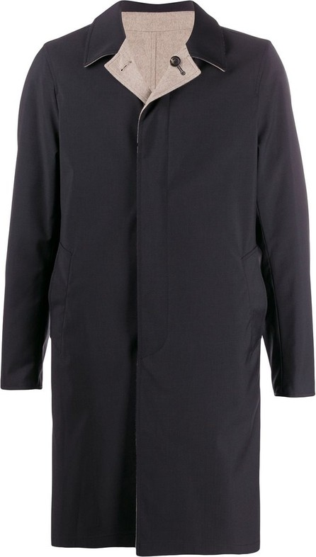Dell'oglio Single-breasted reversible coat