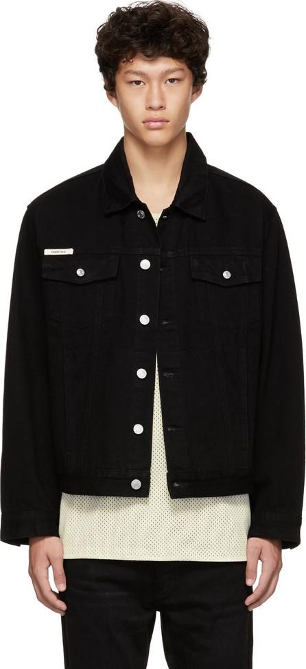 Essentials Black Denim Trucker Jacket