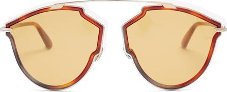 Dior DiorSoReal tortoiseshell aviator-frame sunglasses