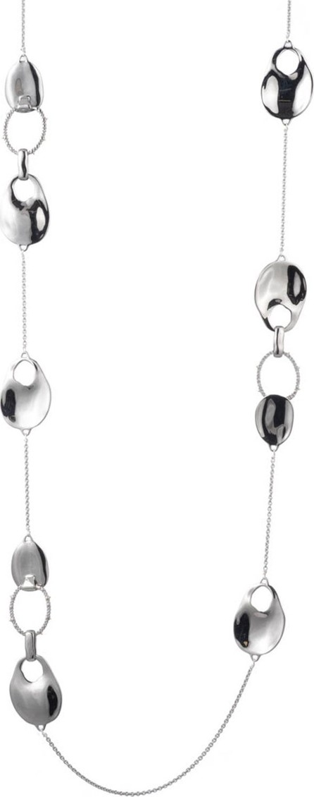 Alexis Bittar Liquid Link Station Necklace with Crystals